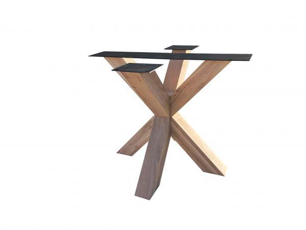 Tisch Gestell Rex Regular Eiche Massiv