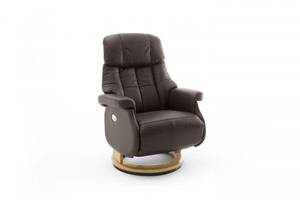 Relaxsessel CALGARY COMFORT Relaxer XL Elektrisch Lder braun