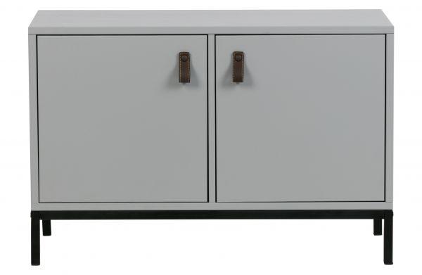 Kommode Vt lower mit zwei Türen grau [fsc]