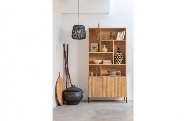 Schrank Gravure Holz Kiefer natur FSC®