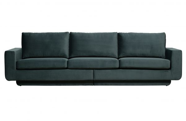 3-Sitzer Sofa Fame Bezug Velvet teal