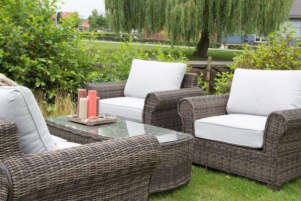 Outdoor Lounge Set Lounge-Set Excellent inkl. Kissen