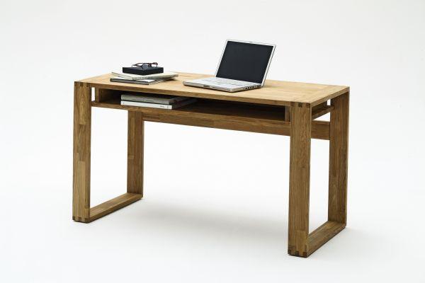 Schreibtisch Jonnas massiv, geölt, gewachst