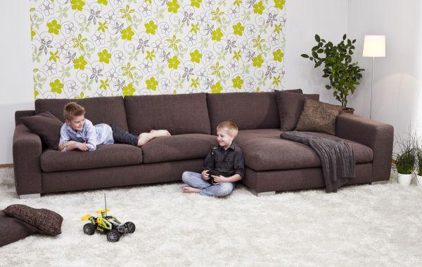 Sofa Programm New York Bezug braun