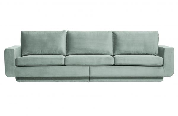 3-Sitzer Sofa Fame Bezug Velvet mint