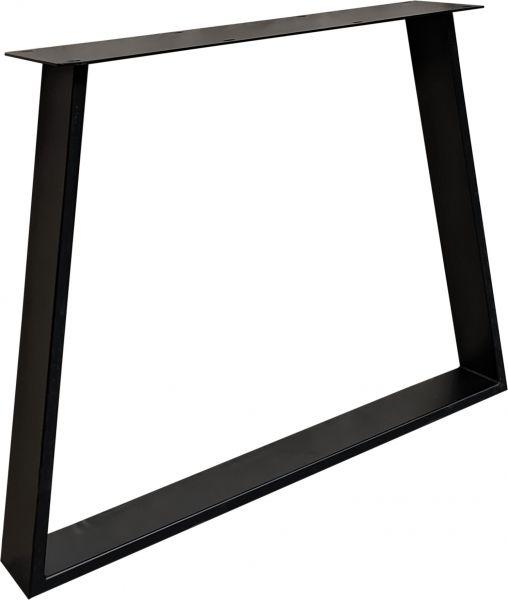 Tischgestell Trapez Exclusiveline 2er Set schwarz