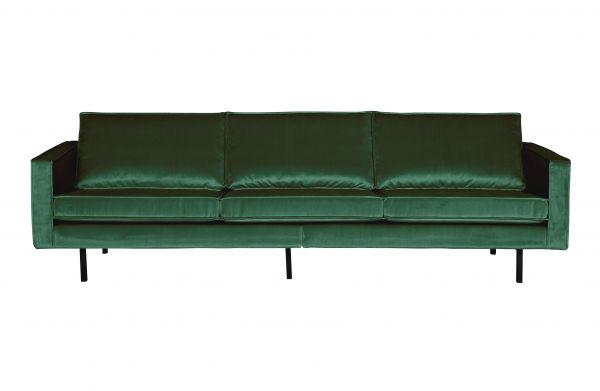 Sofa Programm Rodeo Bezug Samt grün