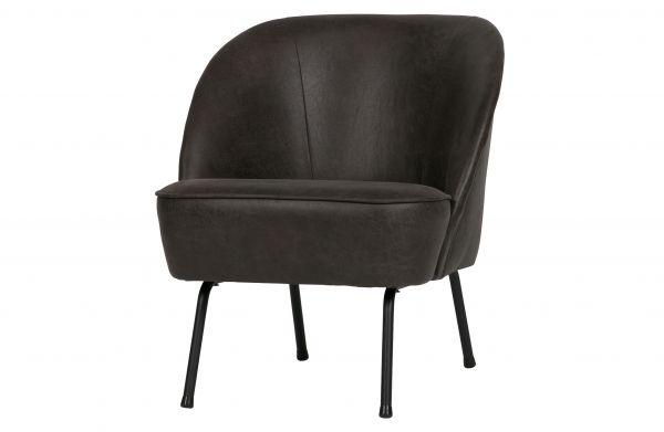 Sessel Vogue Bezug Eco Leder schwarz