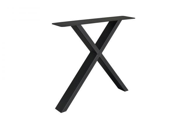Tischgestell X Fineline 2er Set aus Stahl in 4 Farben