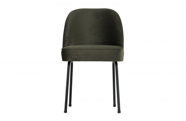 Stuhl Vogue 2er Set Bezug Velvet grün