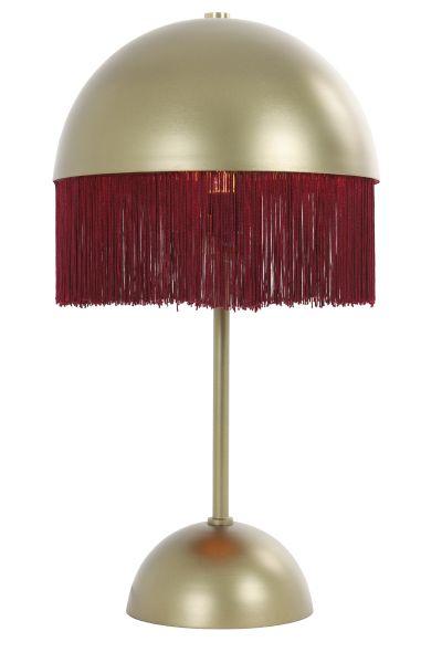 Tischleuchte Oiva Rund Metall rot