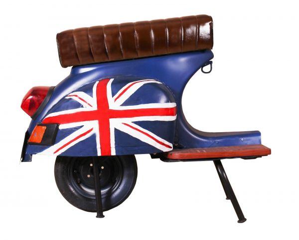 Barhocker Vespa Vintage Union Jack