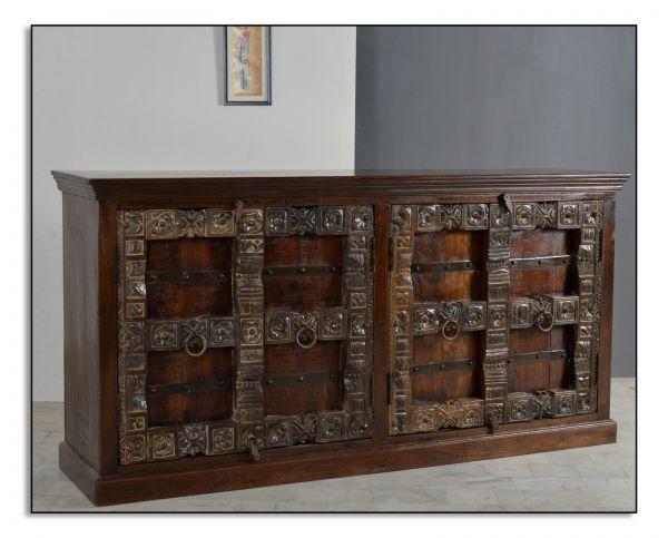 Sideboard Almirah Cabana Holz dunkelbraun