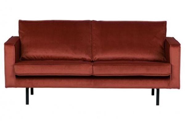 Sofa Rodeo 3-Sitzer Bezug Velvet Chestnut