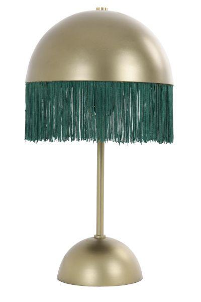 Tischleuchte Oiva Rund Metall grün