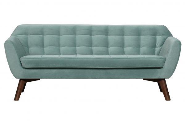 3-Sitzer Sofa Roxy Samt hellbau
