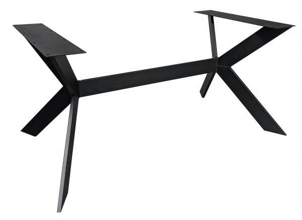 Tischgestell Rex Long Exclusiveline Stahl schwarz