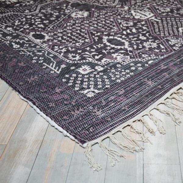 Teppich VICTORIA 160 X 230 cm lila Vintage