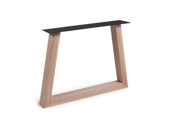 Tisch Gestell Woodline Fineline Trapez Eiche