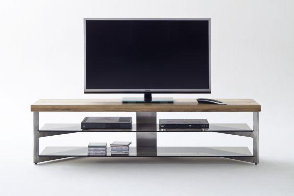 TV Lowboard Fabi Platte Asteiche Massiv geölt