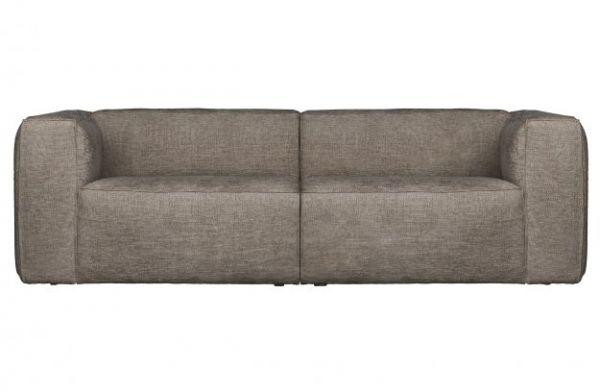 3,5 Sitzer Sofa Bean Bezug Melange Travertin