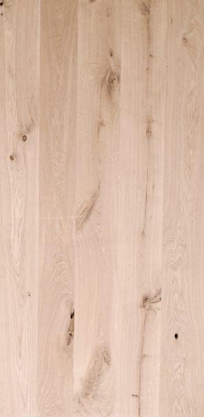Tischplatte Eiche gerader Kante Massiv 40mm