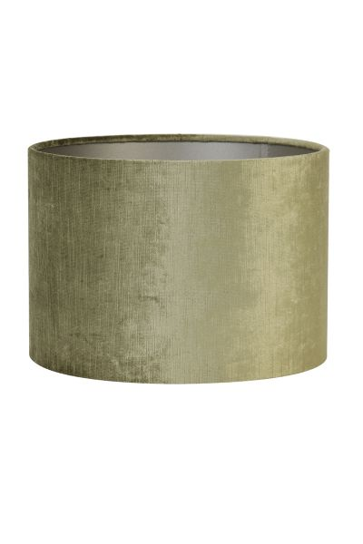 Lampenschrim Zylinder 40-40-30 cm olive