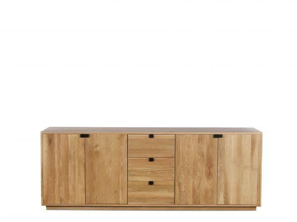 Sideboard Montecristo Holz Eiche Massiv Natur