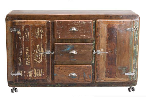 Sideboard Fridge Holz Vintage