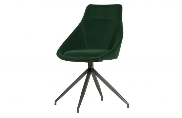 Stuhl Resa 2er Set Bezug Velvet grün