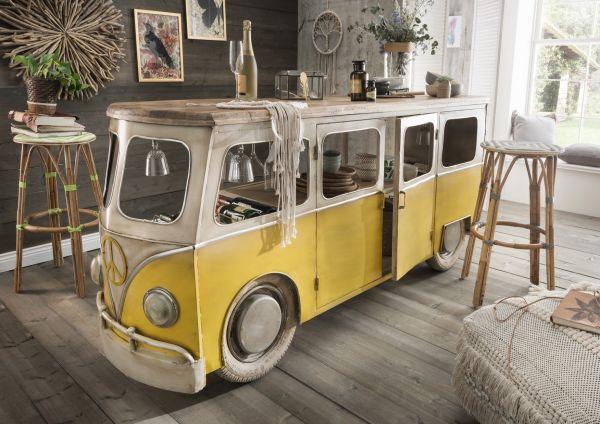 Fahrzeug-Bar / -Ladentheke BULLI VW Vintage