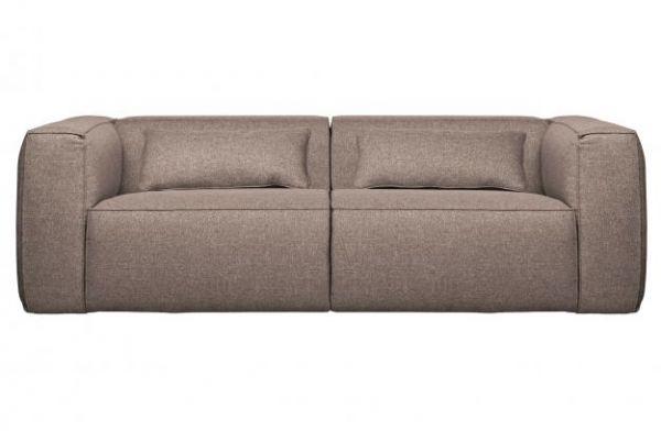 3-Sitzer Sofa Bean Stoff Taupe