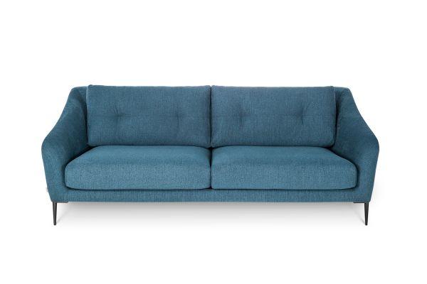 Sofa 2 und 3--Sitzer Edmund Beine Metall schwarz