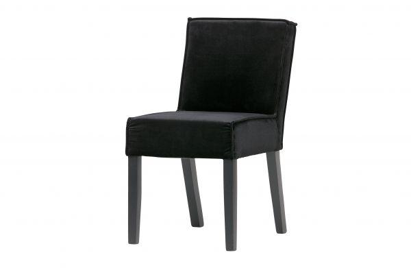 Stuhl Rodeo 2er Set Bezug Velvet schwarz