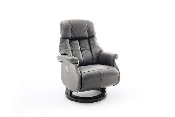 Relaxsessel CALGARY COMFORT Relaxer XL Elektrisch Leder schlamm