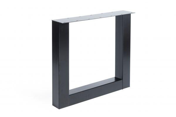 Tischgestell U Regular 2er Set aus Stahl in 4 Farben