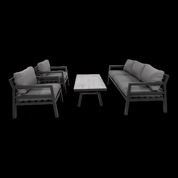 Outdoor Lounge Set Bilbao Aluminium anthrazit