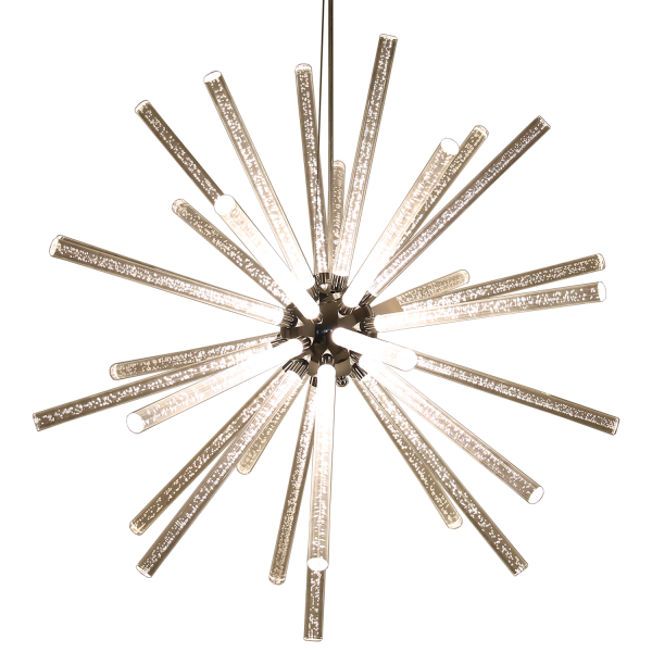 LED Hängeleuchte Brilliant mit 32 Stäbe