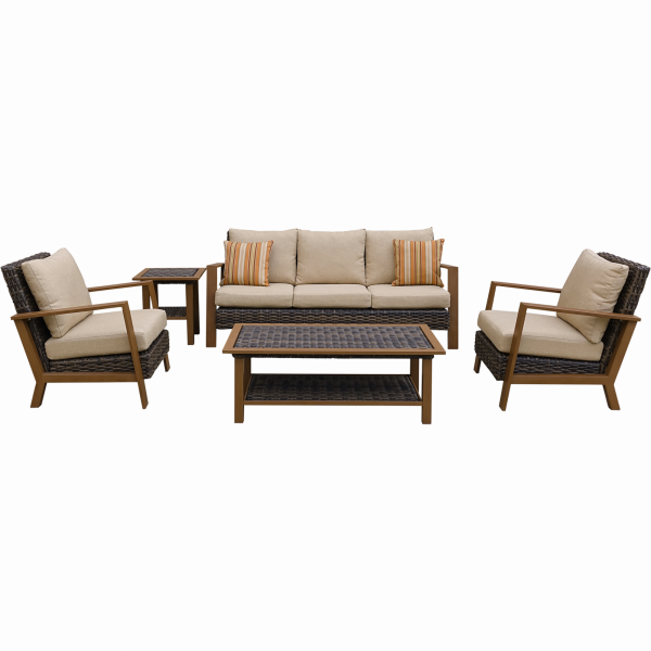 Outdoor Lounge Set Classico Alu Gestell Inkl. Kissen