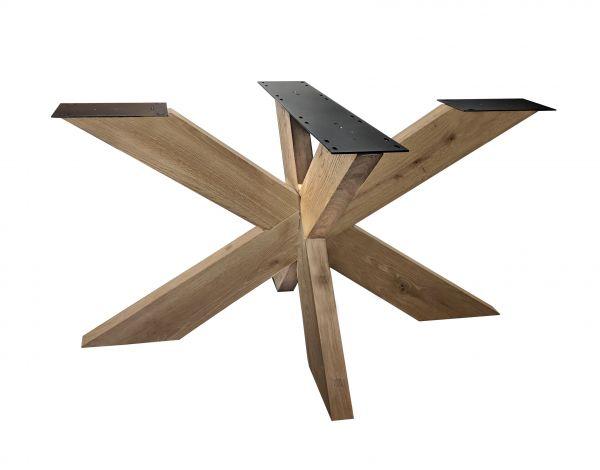 Tisch Gestell Rex Fineline Eiche Massiv