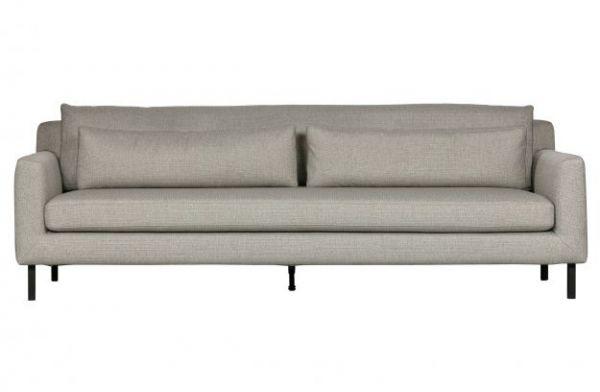 3-Sitzer Sofa Nienke Bezug hellgrau