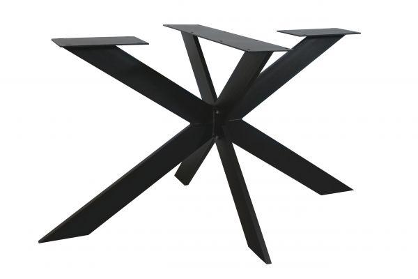 Tischgestell Rex Exclusiveline Stahl schwarz 180 cm