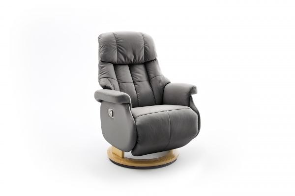 Relaxsessel CALGARY COMFORT Relaxer L Manuell Lder schlamm
