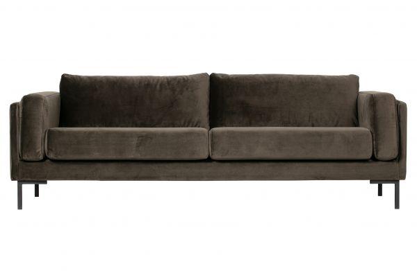 3-Sitzer Sofa Maeve Bezug Velvet grün
