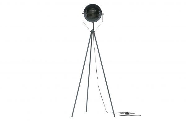 Stehlampe Lester Betonfarbig Metall Loft Design