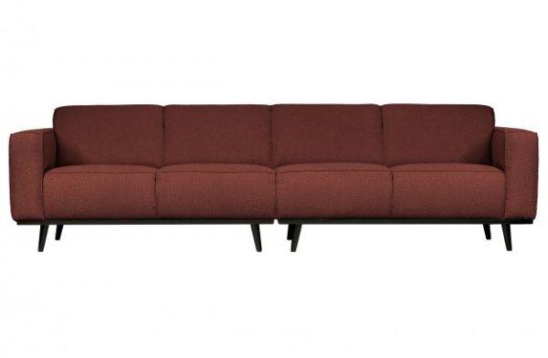 3-Sitzer Sofa Statement Bezug boucle kastanie