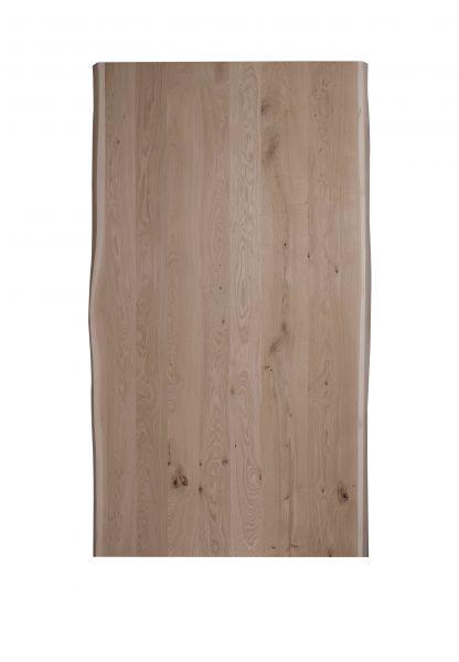 Tischplatte Eiche Baumkante Massiv 40mm