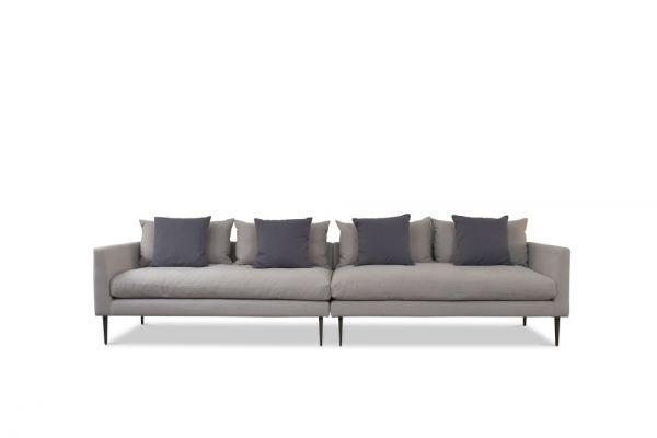 Designer Sofa Milan 3 und 4 Sitzer