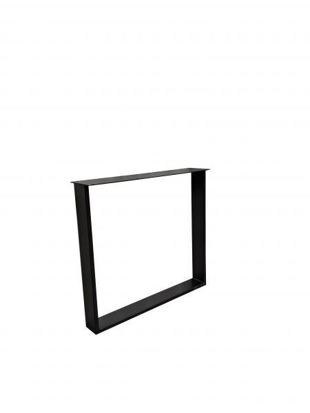 Tischgestell U Exclusiveline 2er Set schwarz