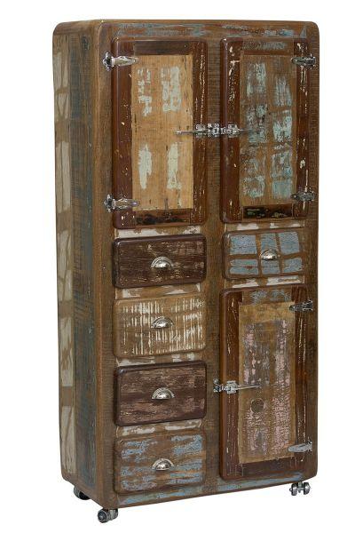 Schrank Friedge 2 trg. Holz Vintage